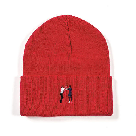 """HIGH-FIVE"" BEANIE / RED"
