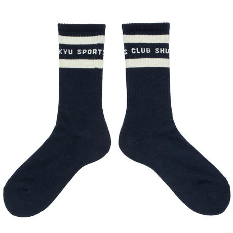 SHUKYU Sports Club / Socks [NAVY]