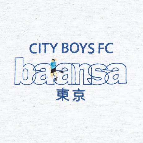 balansa x CITY BOYS TEE [ASH]