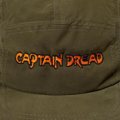 """CAPTAIN DREAD"" WATER REPELLENT CAP [KHAKI]"