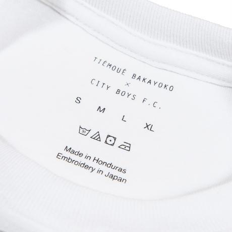 CITY BOYS FC x TIÉMOUÉ BAKAYOKO TEE / WHITE