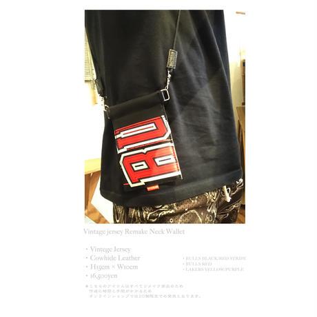 Civiatelier × T.C.R BY TOUCHER  - Vintage jersey Remake Limited Neck Wallet