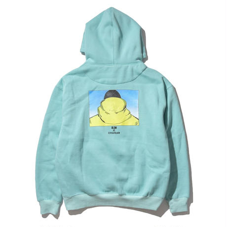 Limited Edition DLSM × Civiatelier Influence Hoodie TURQUOISE