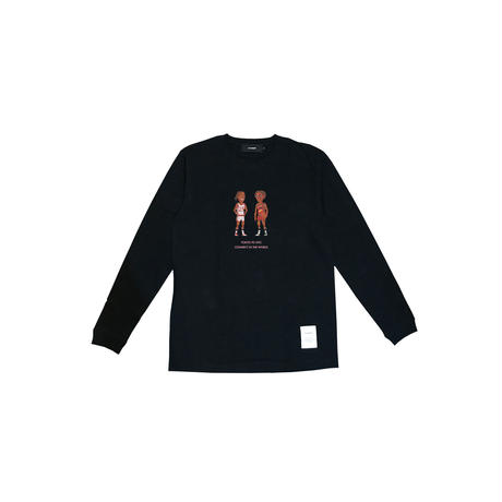 D&R Pixel Logo Long Sleeve Tee