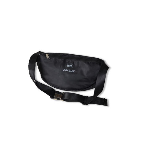 LIMITED EDITION NUMBER 001~038 Kanez Tokyo × Civiatelier Vintage Jersey Remake WAIST BAG ウエストバッグ