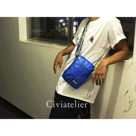 Webshop限定 Civiatelier IKEA Remake Small Shoulder Bag Pouch シヴィアトリエ リメイク ポーチ