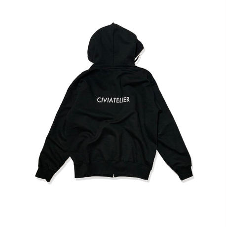 Civiatelier Small Logo Zip Parka