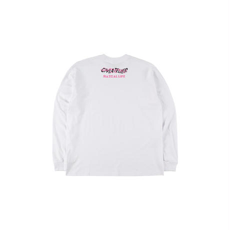 Razcallife x Civiatelier THE FUTURE IS DIFFERENT Long Sleeve T-shirts