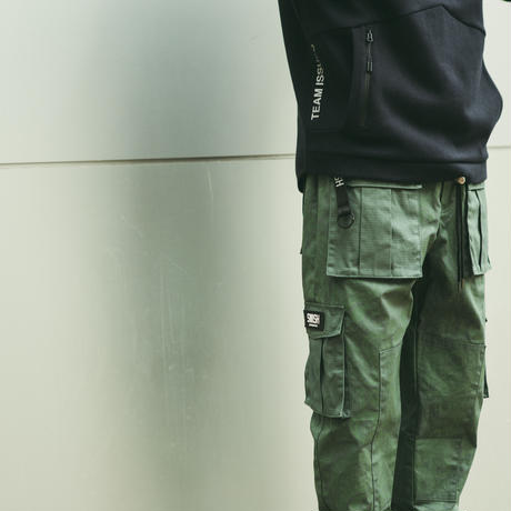 SWISH × CIVIATELIER PAISLEY CARGO PANTS