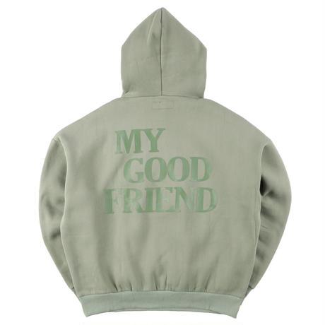 L size Vintage Jersey Custom MGF Hoodie パーカー 数量限定 一点物