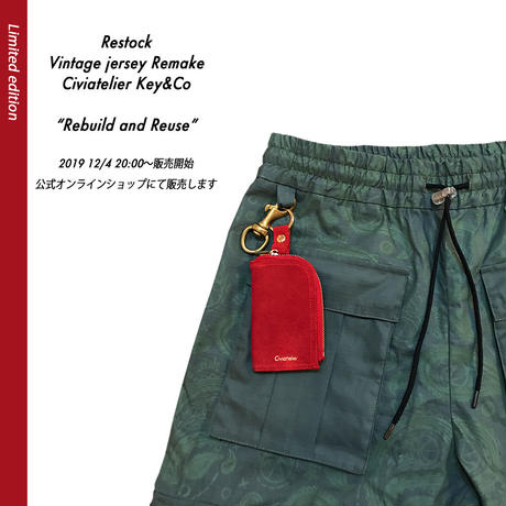 Civiatelier Key&Co Limited edition キーケース&コインケース