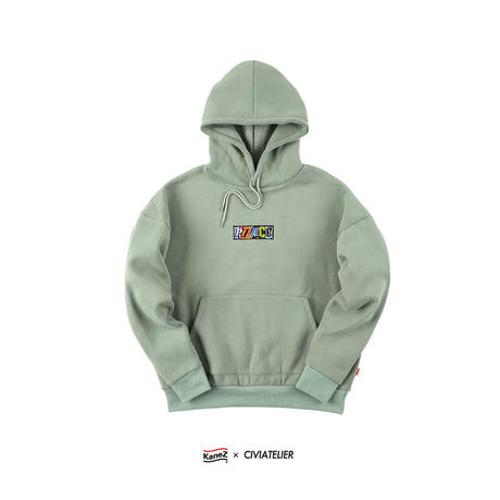 """LIMITED EDITION Kanez Tokyo × Civiatelier """"PEACE"""" EMBROIDERY HOODIE"""