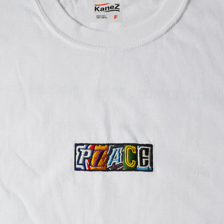 "LIMITED EDITION NUMBER 001~080 Kanez Tokyo × Civiatelier ""PEACE"" EMBROIDERY LOMG SLEEVE T-SHIRTS"