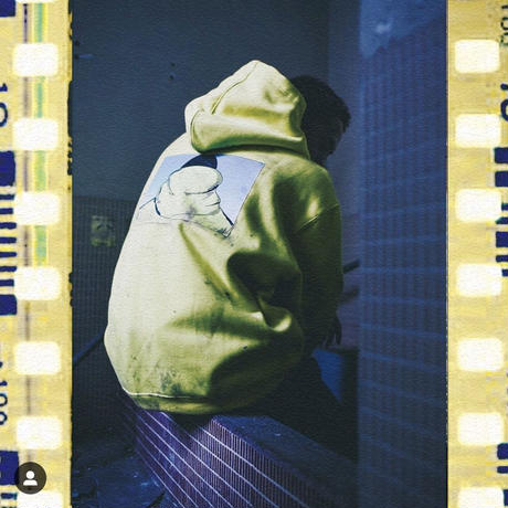 Limited Edition DLSM × Civiatelier Influence Hoodie LEMON YELLOW