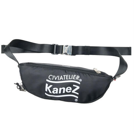 LIMITED EDITION NUMBER 001~038 Kanez Tokyo × Civiatelier RIP STOP NYLON WAIST BAG ウエストバッグ