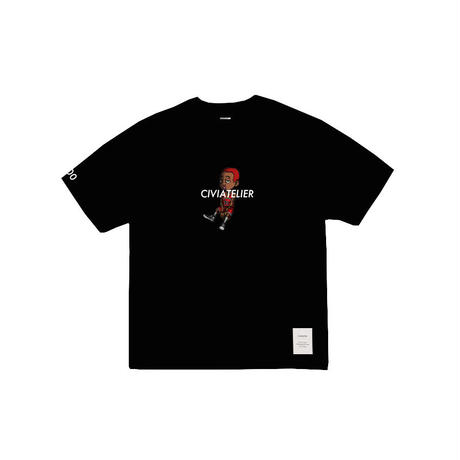 Civiatelier My dogs Second Series Tee (Limited Edition) Bulls Red color