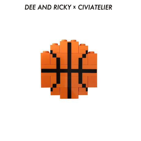 D&R Basketball Lego Brooch (レゴ ブローチ) 数量限定