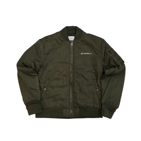 The world is yours Thinsulate MA-1 Jacket 20枚限定