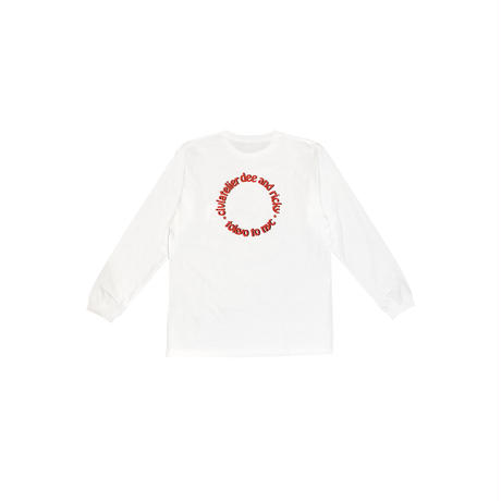 D&R Heart Logo Long Sleeve Tee