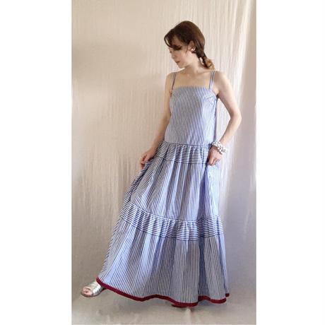 BOUTIQUE  cotton stripe  dress TE-3606(コットン/ストライプ)