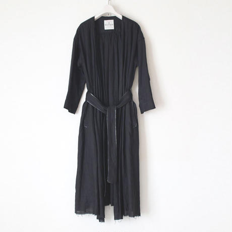 SOLD OUT《在庫希少》BOUTIQUE  linen coat TO-3200/BLACK