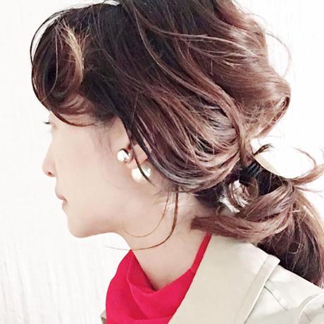 【BOUTIQUE】  cosmo pieaced earrings  /KISKA  X GOLD