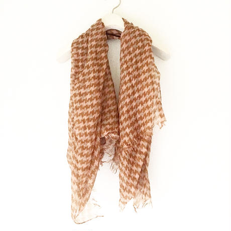 BOUTIQUE  houndstooth print  scarf