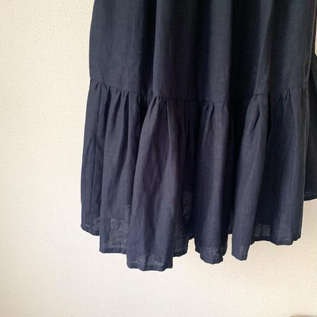 終了しました【予約販売】 青山有紀さんx BOUTIQUE  cache coeur dress TA-RW-01(bag 付)  DARK NAVY