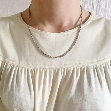 【VINTAGE 】TIFFANY chain necklace
