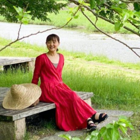 青山有紀さんx BOUTIQUE  cache coeur dress TA-RW-01(bag 付)  RED