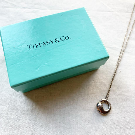 【VINTAGE 】TIFFANY charm necklace