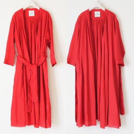 BOUTIQUE linen coat TO-3200/RED