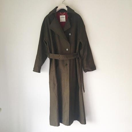 終了しました【予約販売】BOUTIQUE  MILITARY COTTON TRENCH COAT TO-3100           KHAKI BROWN