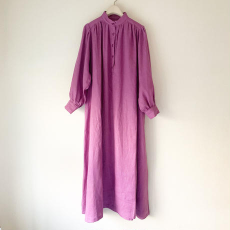 終了しました【予約販売】青山有紀さんx BOUTIQUE  negligee dress TA-RW-02 (bag付) PURPLE