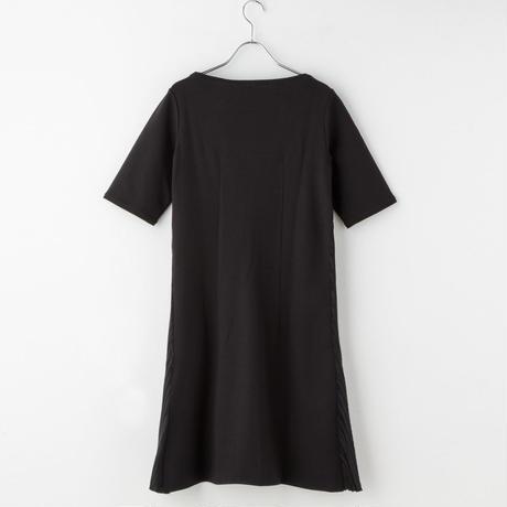 プリーツドレス from Milano(black)