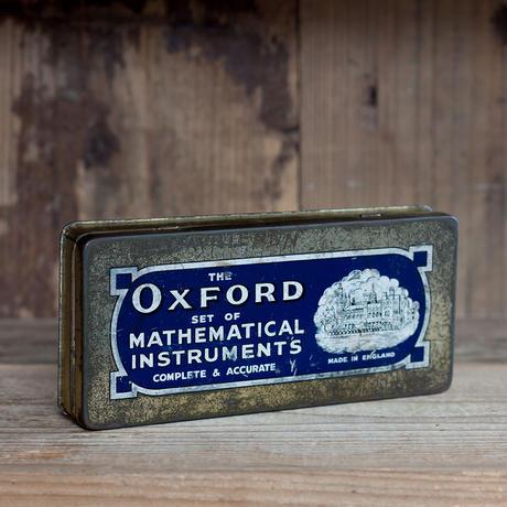 ヴィンテージ・ブリキ缶 OXFORD