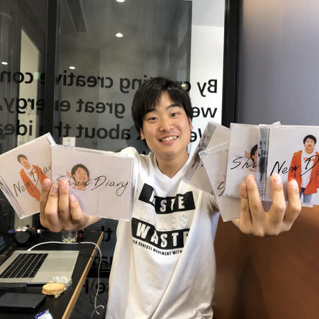 しゅんダイアリー CD(自筆サイン付き)