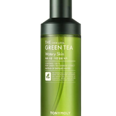 【TONYMOLY 】ザチョクチョクグリーンティウォータリースキン180ml The Chok Chok Green Tea Watery Skin 180ml