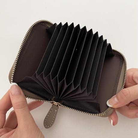 Full grain leather card case 全3色
