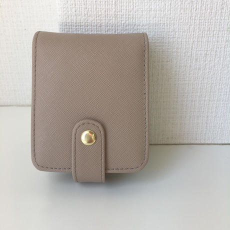 saffiano leather multi case