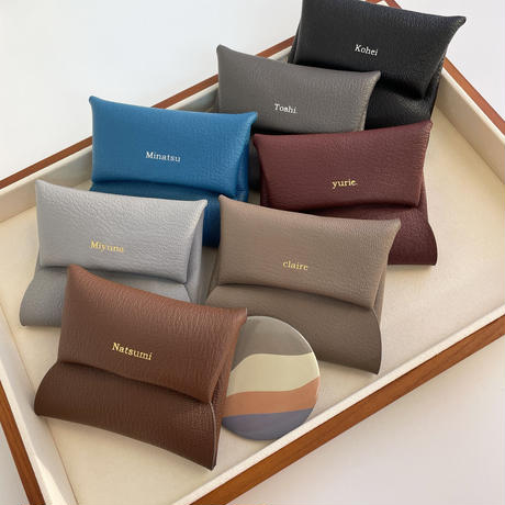 【3月15日発送予定】alran chevre sully leather multi case
