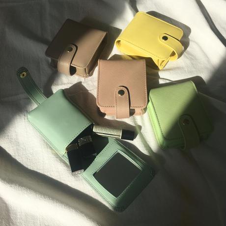 saffiano leather multi case