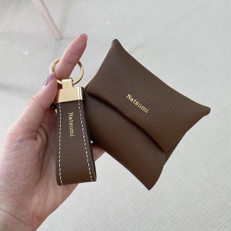 【8月9日発送予定】alran chevre sully leather multi case