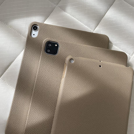 Full grain leather iPad case