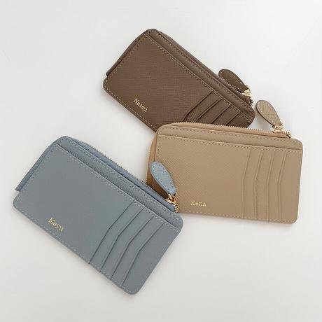 Full grain leather fragment case
