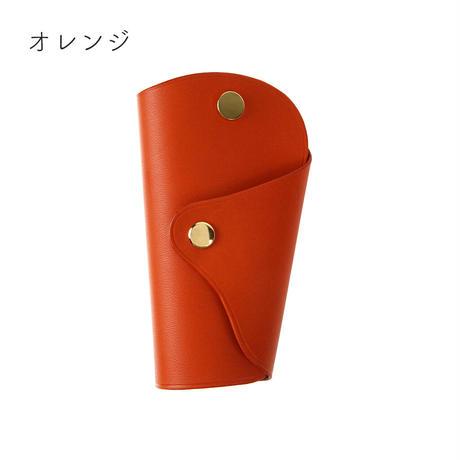 Italian vegetable tanned leather key case 【M】全9色