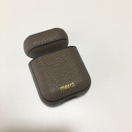 【8月17日発送予定】alran chevre sully leather airpods case