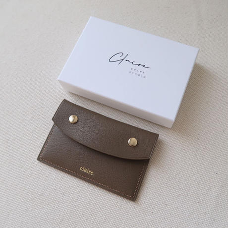 【3月13日発送予定】alran chevre sully leather premium card case