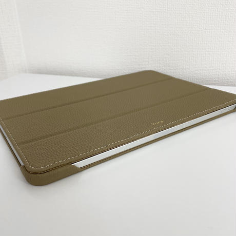 Full grain leather iPad case