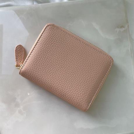 Full grain leather mini wallet